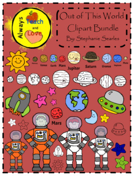 Out of This World: Outer Space Clipart Pack.