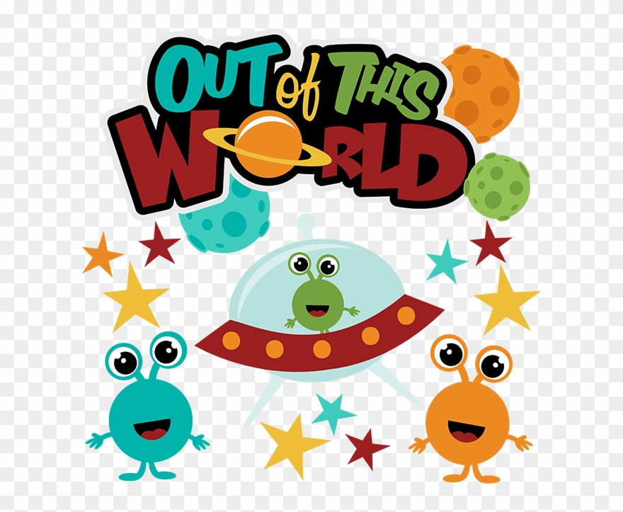 Out Of This World Svg Scrapbook Collection Svg Files.