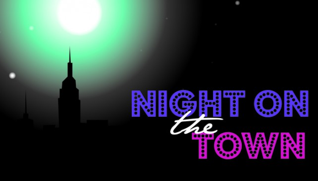 Night Out On the Town Clip Art.