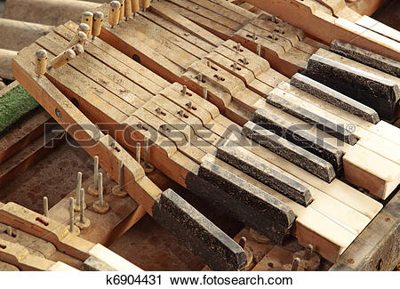 Stock Photography of Piano Out Of Tune k6904431.