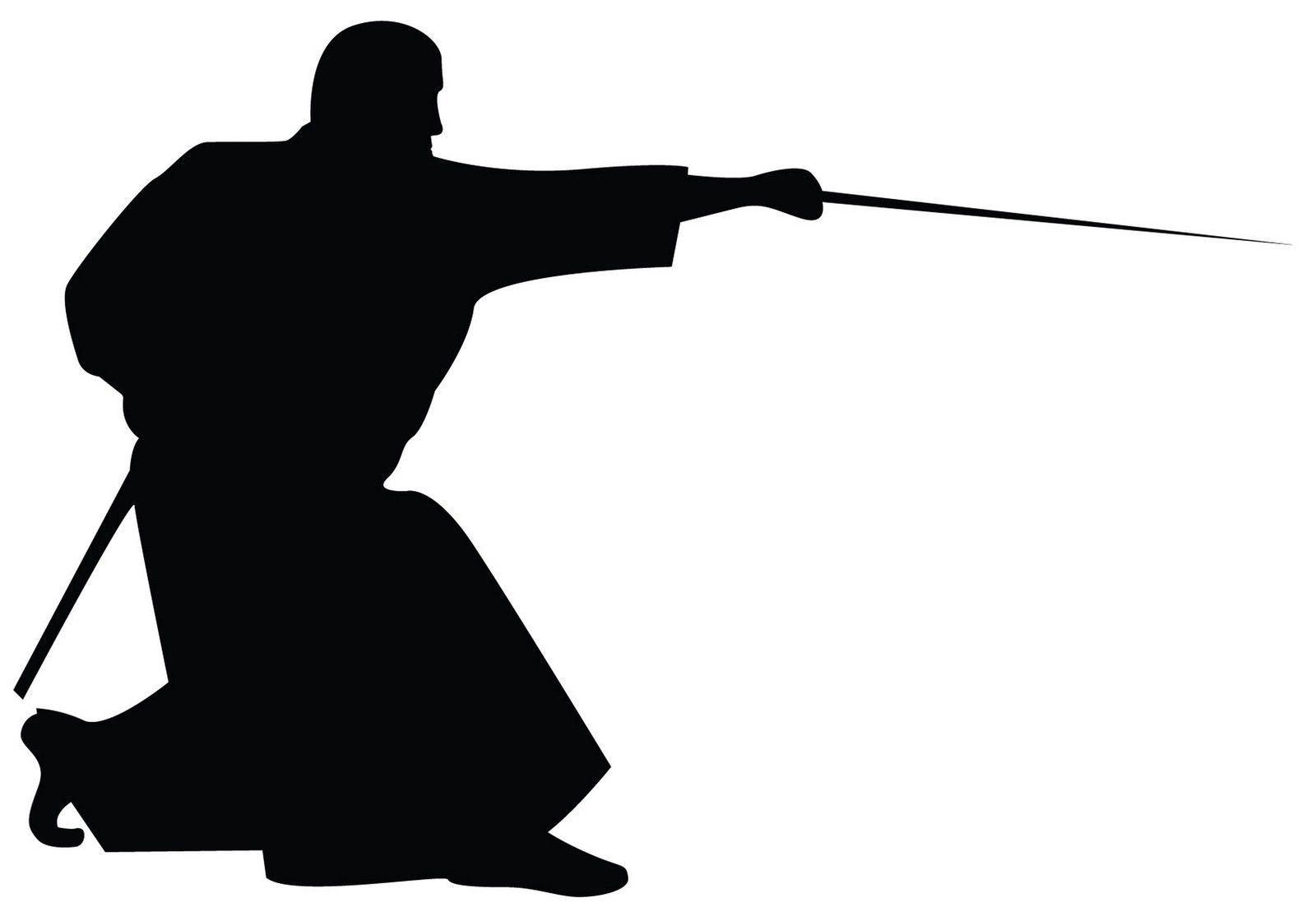 Ninja Silhouette Clipart.