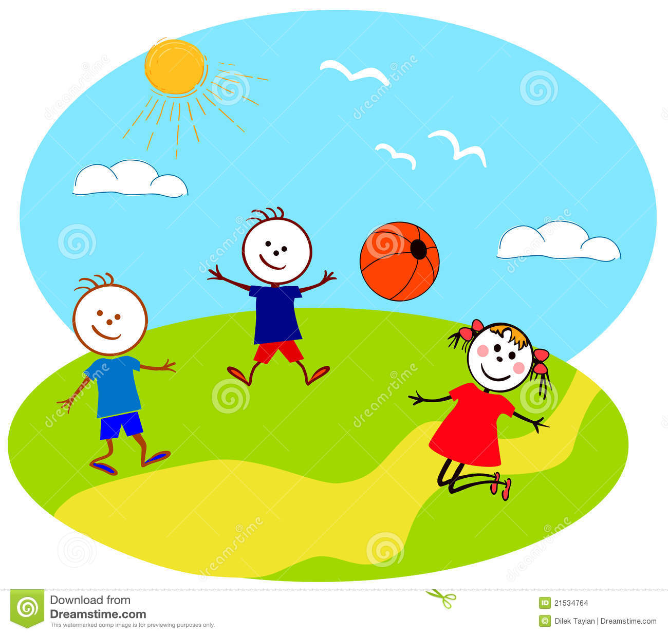Play outside clipart #15