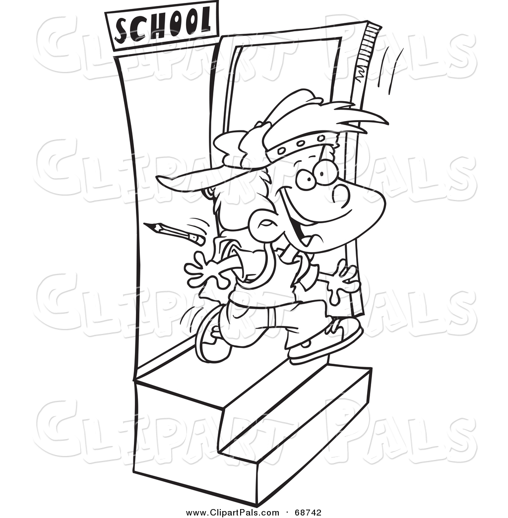 Out The Door Clipart.