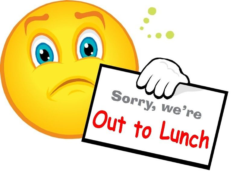 Out to lunch clipart 8 » Clipart Station.