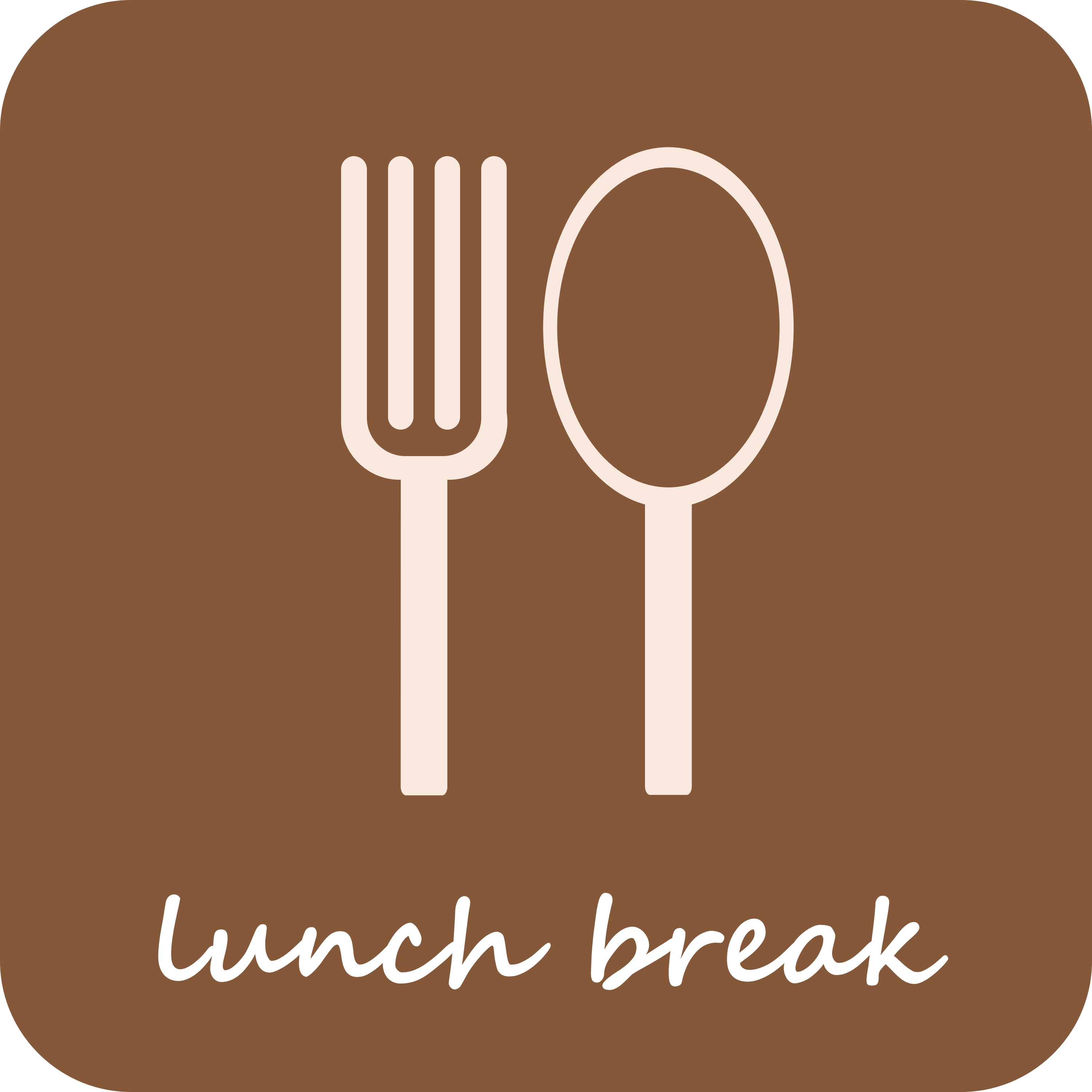 Free Out to Lunch Clipart Image.