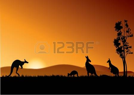 1,121 Australian Outback Stock Vector Illustration And Royalty.