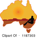 Outback people clipart.