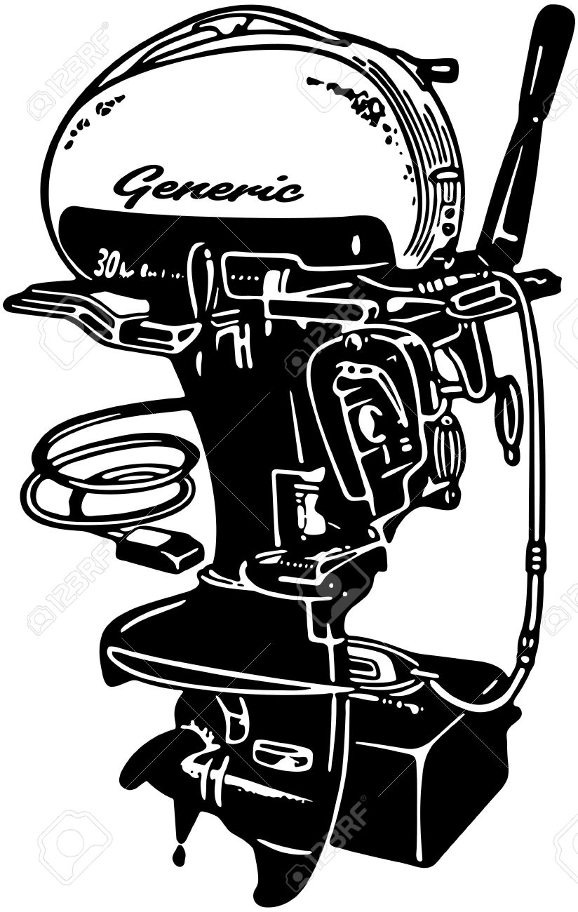 Outboard Motor 2 Royalty Free Cliparts, Vectors, And Stock.