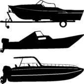 Motor Boat Clip Art.