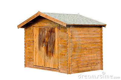 Tool Shed Royalty Free Stock Photography.