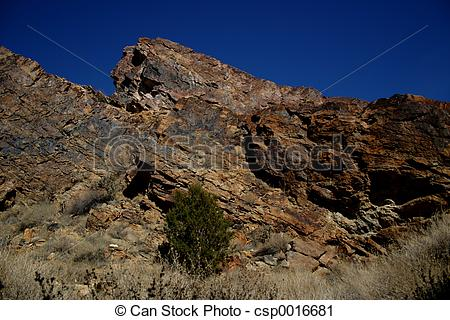 Stock Photography of Granite Outcrop.