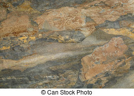 Stock Photo of foliated rock.