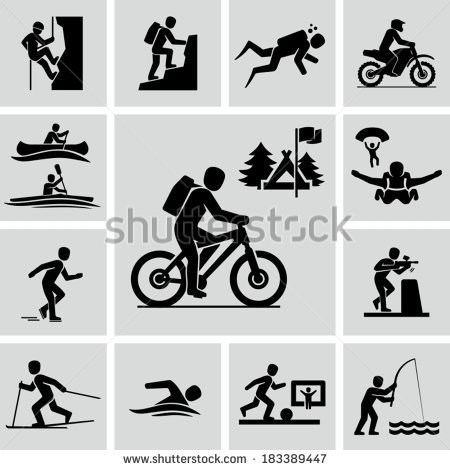 Outdoor Activities Stock Images, Royalty.