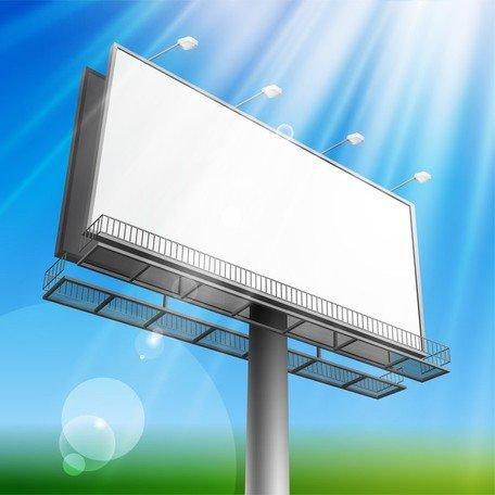 Billboard Clip Art, Vector Billboard.