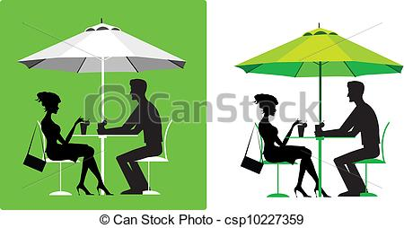 Outdoor cafe Clipart and Stock Illustrations. 1,983 Outdoor cafe.