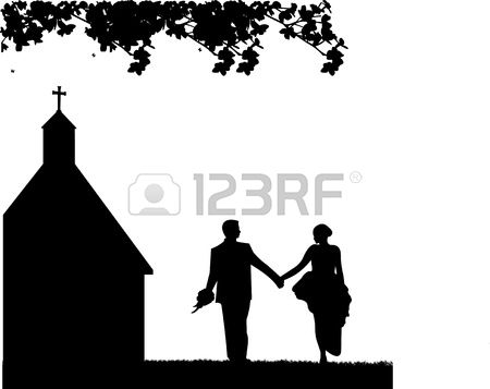2,824 Church Wedding Stock Vector Illustration And Royalty Free.