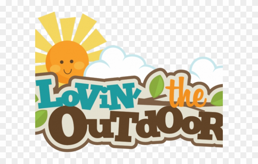 Outdoor Clipart Camping Word.