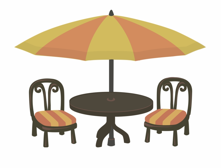 Clip Art Transparent Outdoor And Chairs Png Patio Clip.