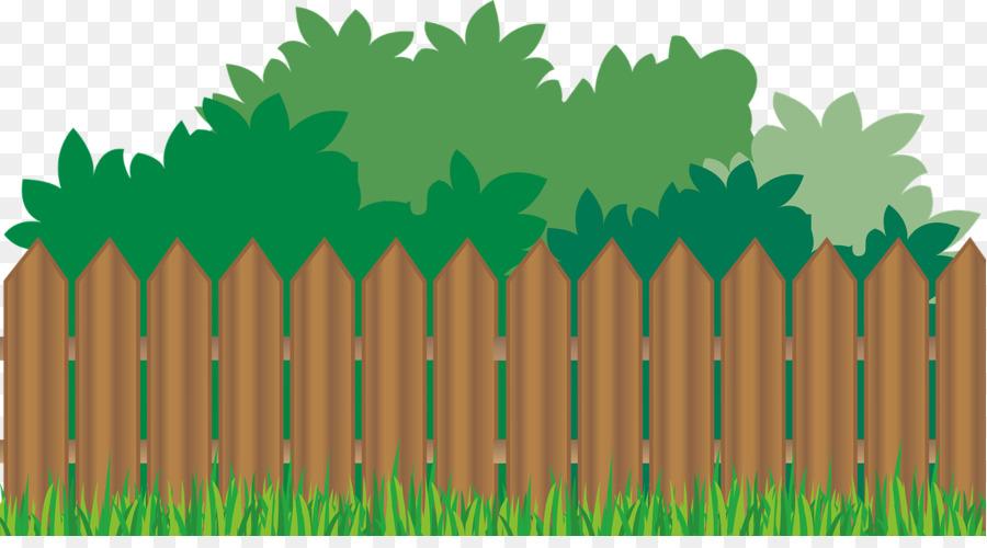 Download Free png Picket fence Flower garden Clip art.