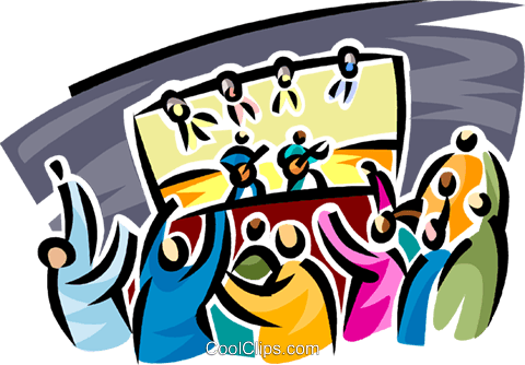 live concert Royalty Free Vector Clip Art illustration.