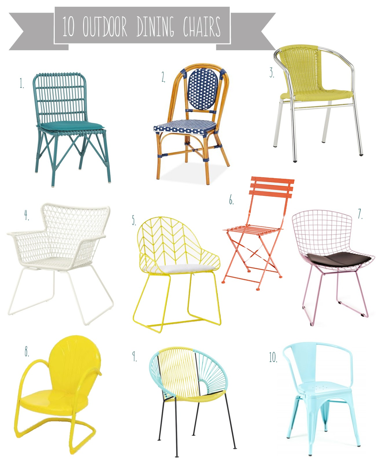 Patio Dining Clipart.