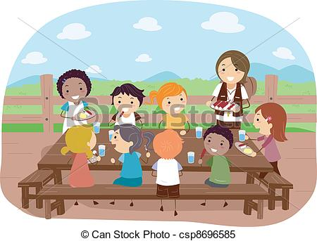 Outdoor dining Clipart and Stock Illustrations. 438 Outdoor dining.