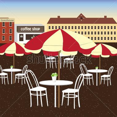 outdoor restaurant clip art Gallery.