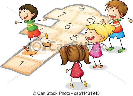 Hopscotch Illustrations and Clip Art. 136 Hopscotch royalty free.