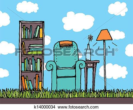 Clipart of Outdoor living k14000034.