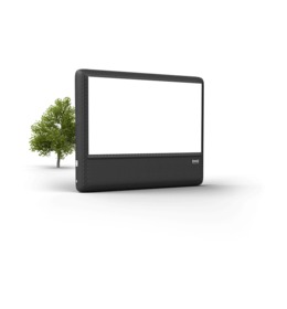 Inflatable Movie Screen transparent png images & cliparts.
