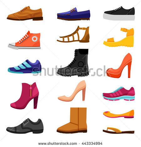 Footwear Stock Photos, Royalty.