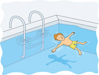 Clip Art Swimming Pool Games Clipart.