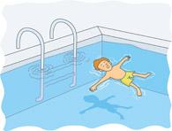 Clip Art Swimming Pool Games Clipart.