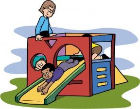 Preschool Playground Clipart.