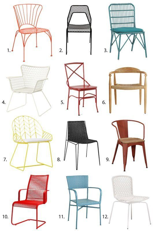 1000+ ideas about Outdoor Dining Chairs on Pinterest.
