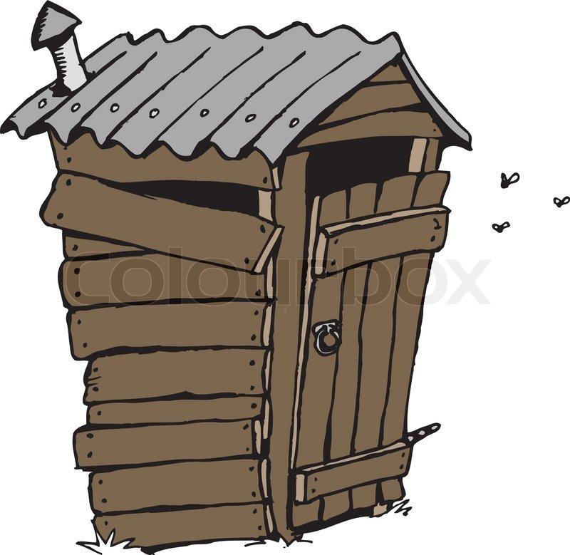 Cartoon toilet (dunny).