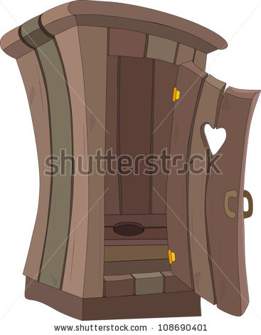 Pit Toilet Stock Images, Royalty.