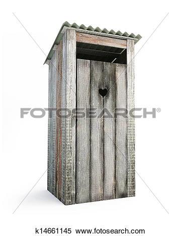 Stock Image of outdoor toilet k14661145.