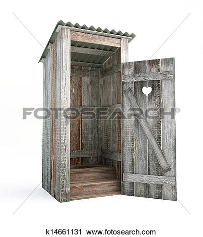 Stock Photography of outdoor toilet k14661131.
