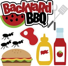 Bbq clipart digital clip art outdoors summer backyard bbq clip 2.