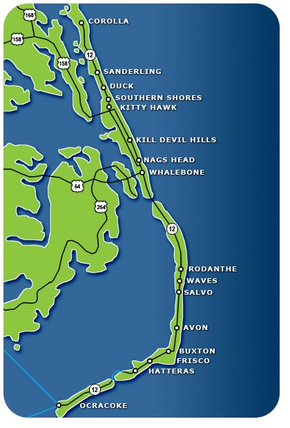 Outer Banks Desktop Clipart.