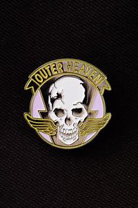 Details about Metal Gear Solid Outer Heaven Logo Metal Pin.
