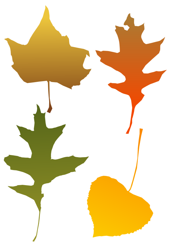 Free Graphics of Trees and Leaves.