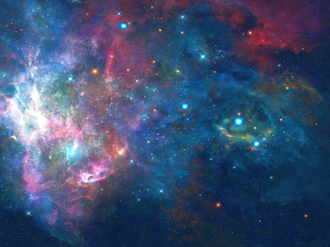 Starry Background, Background Clipart, Outer Space PNG.