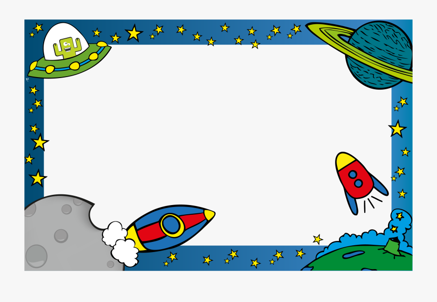 Outer Space Border Clipart , Free Transparent Clipart.