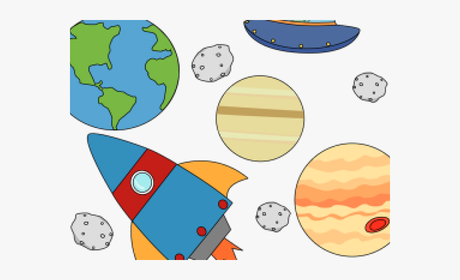Planets Clipart Kid Png.