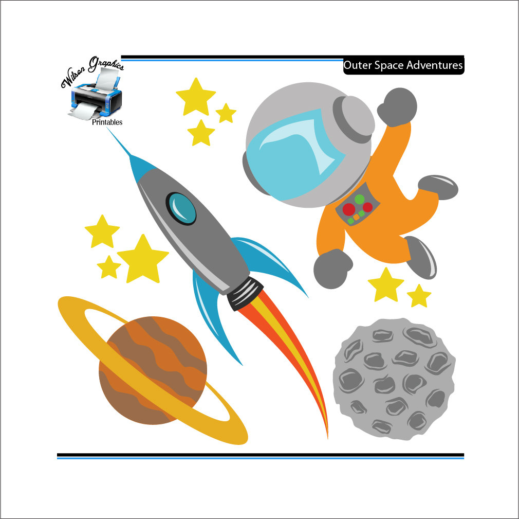 Free Outer Space Clip Art.