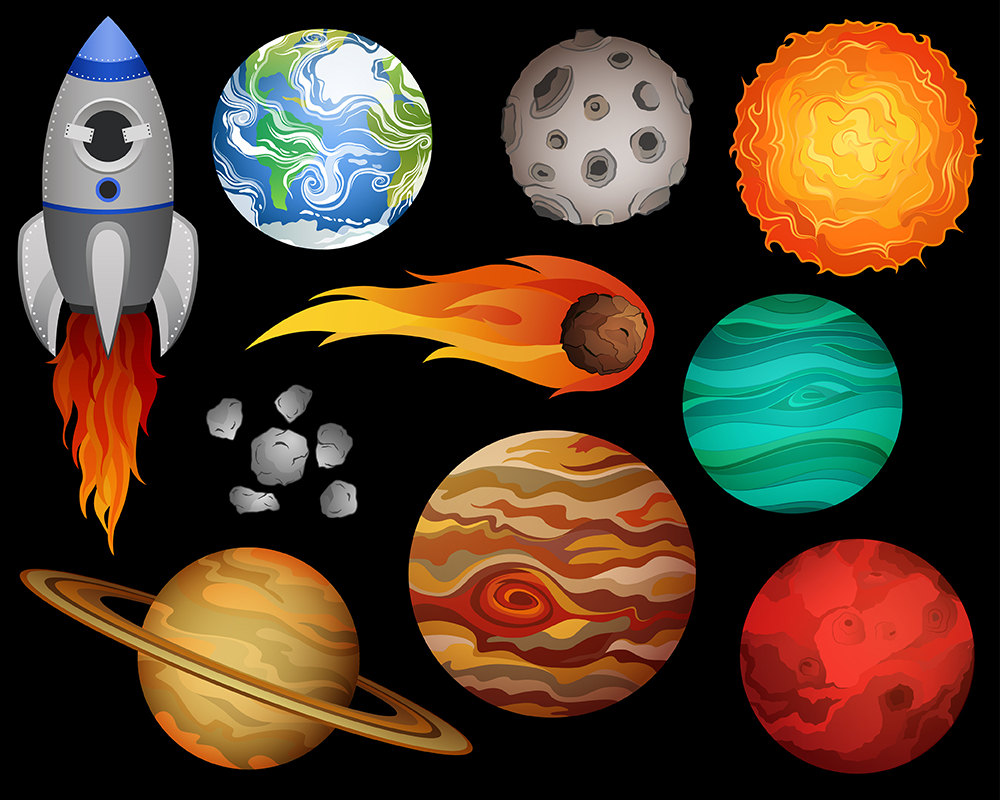 Outer Space Clipart & Outer Space Clip Art Images.