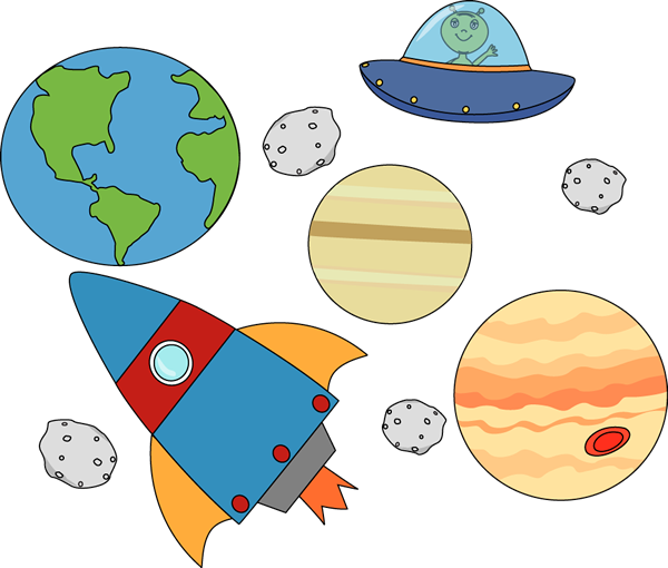 13+ Outer Space Clip Art.