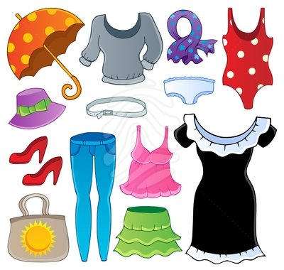 Outfit Clipart.